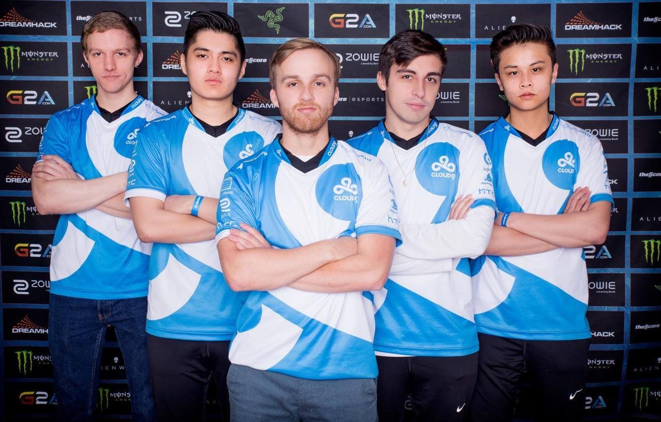 shroud used to belong to a very big esports team. which team is it?