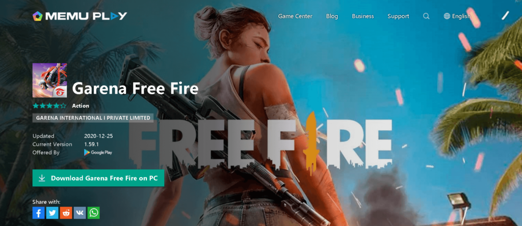 how to play free fire on pc with emulator in 2021