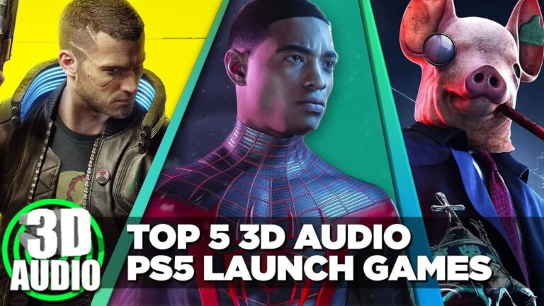 best ps5 games for 3d audio